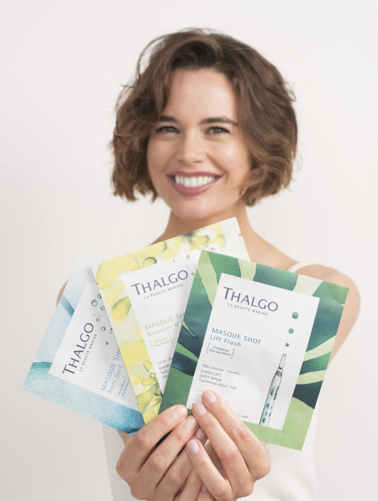 """Die neue """"Shot Masken""""-Serie von Thalgo besteht aus drei Masken, die hochdosierte maritime Wirkstoffkonzentrate enthalten. Mehr Infos bei Cosmetic creativ, Kosmetikstudio in Kulmbach-Windischenhaig."""